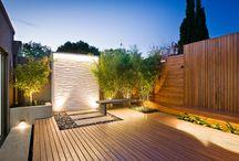 Patios/decks/backyards