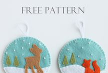 Felt and DIY ornaments / by Amy Zann