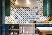 Kleine tegels keuken / Keuken