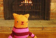 Brei knuffels / Knit a cuddly toy