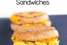 Recipes | Breakfast Sandwiches + Toasts / Plant-based, vegan, eggless, dairy-free, and meatless recipes for breakfast sandwiches and toasts