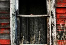 old windows / by Crystal Shook
