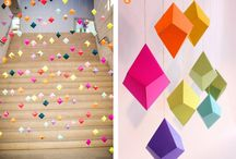 Geometric Design / Art, home decor, creative ideas - all featuring geometric designs