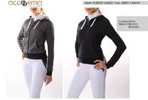 Polo, Sweatshirts and Jackets / Not only breeches: All the tops made in Accademia Italiana Equestrian Style