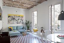 Faház nappali-konyha inspirációk / Faház belsőhöz inspirációs képek