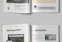 Corporate things! layout, design etc