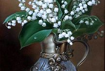 Цветы в живописи...