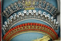 Empire era tiaras and jewellery