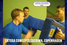 Eskrima,FMA, Latosa Concepts, Dansk FMA og Selvforsvar Gruppen