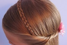Young girl hairstyles / by Kimberly Haley-Coleman