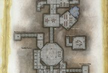 Role Playing Game Floor Plans