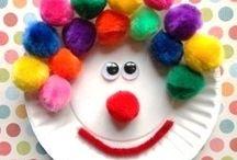 nápady pro děti - cirkus
