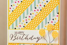 Handmade cards / Stamping up