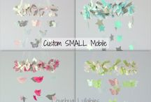 Baby Mobile / mobile ideas for baby boy's crib / by Paige Czelusta