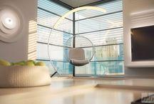 Des éléments moulurés comme éléments de décoration / Décoration d'appartement anciens ou design