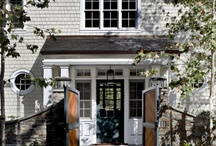 Exteriors, Doors, Windows, and Courtyards / by Heather Harkovich