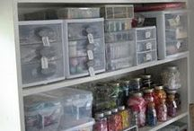 Craft Storage / by Sheri Rollins