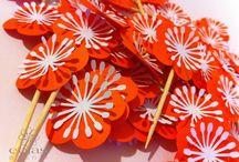 decorazioni feste, decoration fêtes, party decoration / decorazioni personalizzate per feste