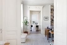 white floor love
