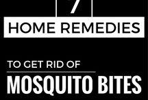 Mosquito spray bites