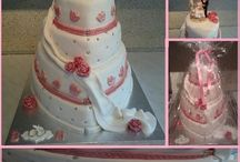 weddingcake bruidstaart Dana's Sweetylicious Cakes