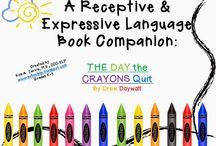 SLP ~ Expressive Language / by Gail Zielinski Weber