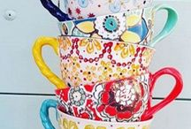 Quirky Teacups / Always be the host with the most with these pretty teacup designs.