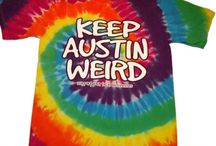 Keep Austin Weird / Highlighting the Keep Austin Weird Apparel and Gifts available in our retail store and online at http://texasstore-austin.com