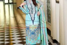 Lala Classic Cotton Embroidered lawn Suits Vol 1
