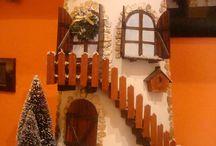Tegole decorate / Le mie tegole di cotto decorate a mano