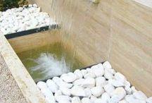 stand fuente de agua