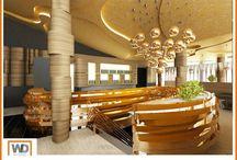 Restaurant project / Modern designed restaurant