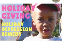 Holiday Giving & Holiday Depression Remedies