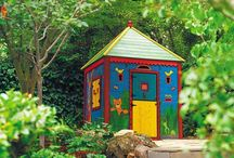 Children's Garden Shack in 50 Do-It-Yourself Projects
