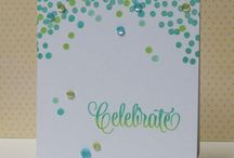 Craft - Cards: Sequins & Bling