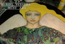 Muriel Stegers / One of the greatest artist in art journal...