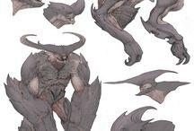 Diseño de monsters