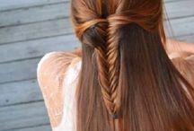 Hair x)