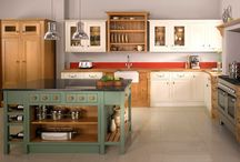 Country Kitchen Inspiration / Ideas and products to help you create the perfect country kitchen. www.oscarsboutique.co.uk