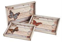 Pintar bandejas madera