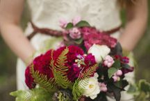 Wedding bouquets / Original, unsual bouquets, amazing colour and flower combination