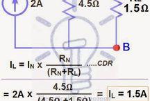 Electric circuits math