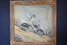 MY ART / My paintings, acrylic, watercolours, mixedmedia.