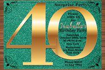 +100 Birthday Invitations