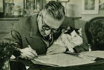 Pisarze i koty / writers and their cats