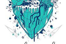 Artistic hearts