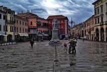 Nei dintorni delle Torri, Il centro in centro / Un centro di aggregazione ad due passi dal centro di Rovigo, una piazza coperta di 500 m² a disposizione di tutti ... ecco il centro Commerciale Le Torri di Rovigo