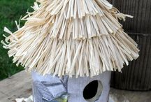 Cute Birdhouses & Feeders / by Barbara Skeen