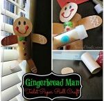 Gingerbread crafts for kids / this page has a lot of Gingerbread and christmas crafts for kids,