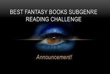 Best Fantasy Books Subgenre Reading Challenge